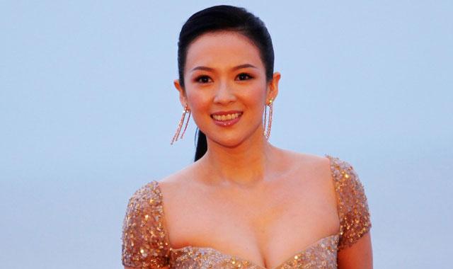 Beautiful Chinese actress zhang-ziyi denies sex scandal